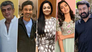 Dadasaheb Phalke Awards South 2020: Ajith, Dhanush, Jyothika, Rashmika Mandanna, Mohanlal Win Big