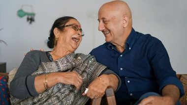 Anupam Kher Off to His Shimla Home With His Mother, Shares Video from the Flight
