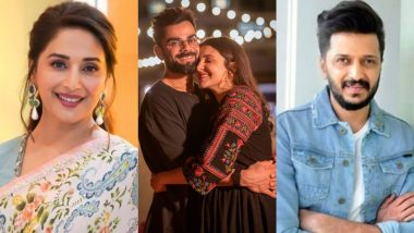 Anushka Sharma-Virat Kohli Blessed With a Baby Girl! Madhuri Dixit, Riteish Deshmukh and Others Shower Love on the Little Angel's Arrival