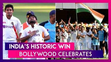 India vs Australia: Shah Rukh Khan, Priyanka Chopra, Anushka Sharma, Ranveer Singh, Karan Johar & Many Others Celebrate India's Historic Win