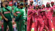 How To Watch Bangladesh vs West Indies 1st ODI 2021 Live Streaming Online in India? Get Live Telecast of BAN vs WI Match & Cricket Score Updates on TV