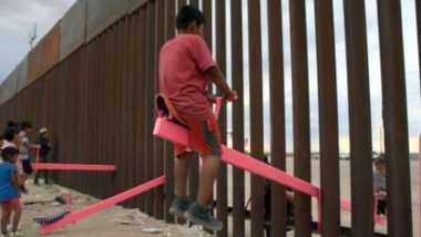 2020 Beazley Design of the Year: Teeter-Totter Wall, a Seesaw at US-Mexico Border Wall, Wins the Award Conferred by London's Design Museum