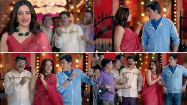Bhabiji Ghar Par Hain Promo: Nehha Pendse as Anita Bhabhi Makes a Striking Entry in a Red Saree (Watch Video)