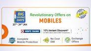Flipkart Big Saving Days Sale 2021: Live Deals on iPhone 11, iPhone SE, Samsung S20+, RoG Phone 3 & More