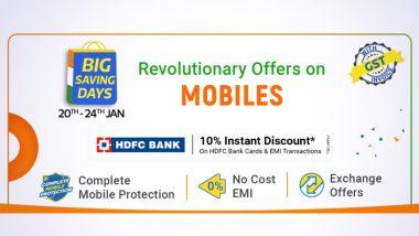 Flipkart Big Saving Days Sale 2021: Live Deals on iPhone 11, iPhone SE, Samsung S20+ & More