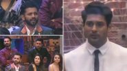 Bigg Boss 14: Sidharth Shukla Makes an Entry, Grills Rahul Vaidya for Constantly Attacking Abhinav Shukla (Watch Video)