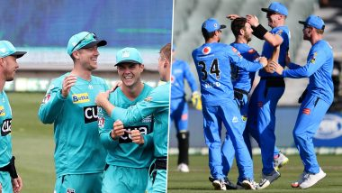 Brisbane Heat vs Adelaide Strikers, Eliminator, BBL 2020–21 Live Cricket Streaming: Watch Free Telecast of Big Bash League 10 on Sony Sports and SonyLiv Online