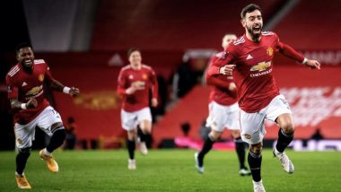 Bruno Fernandes Scores Most Number of Goals by Midfielder in EPL During Manchester United vs Liverpool, Surpasses Frank Lampard