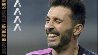 Juventus Post Birthday Wish for Their Goalkeeper Gianluigi Buffon on Instagram