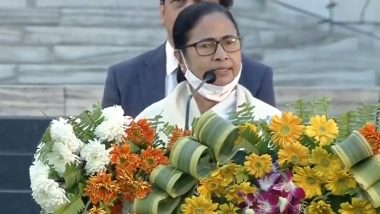 West Bengal CM Mamata Banerjee Alleges 'Women Not Safe in BJP', Urges People Not To Send Their Women in the Party