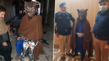 Pakistani Man Dressed In 'Scary' Mask To Prank People in Peshawar Arrested on New Year's Eve! Netizens Come Up With Funny Memes and Jokes to Bid 2020 Good-Bye