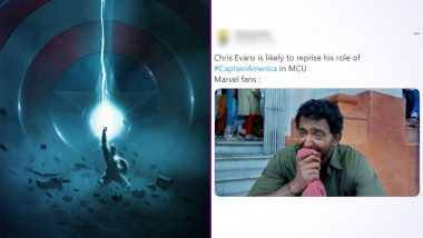 Captain America 'Returns' Funny Memes, Jokes & Iconic GIFs Flood Social Media! Fans Desperately Hope Rumour of Chris Evans Reprising Steve Rogers Role in MCU Is TRUE!