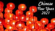 Chinese New Year 2021 Date, Significance & History: Know More About Lunar New Year That Celebrates  Year of the Ox for Spring Festival