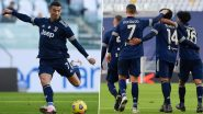 Cristiano Ronaldo Reacts After Juventus Beat Bologna 2-0 to Close Gap on Serie A 2020-21 Leaders AC Milan