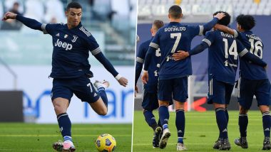 Cristiano Ronaldo Reacts After Juventus Beat Bologna 2-0 to Close Gap on Leaders AC Milan
