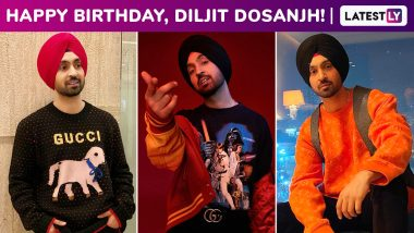 Diljit Dosanjh Birthday Special: Rolling Into Dandy, Debonair and Dapper Moods, His Signature Styles Are Worth a Reckon!