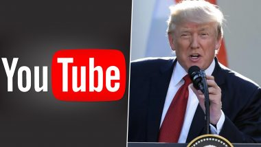 YouTube Extends Ban on Donald Trump's Channel for Another Week Ahead of Joe Biden's Swearing-In Ceremony