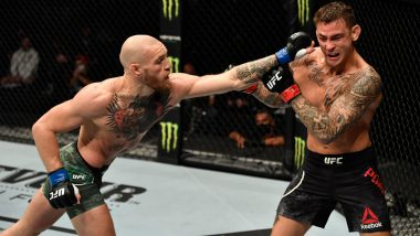 Conor McGregor vs Dustin Poirier 3 Fight Live Streaming on SonyLiv: Watch Free Live Telecast of UFC 264 on TV in India