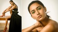 Erica Fernandes Strikes Some Hot Poses in a Black Co-ord Set and Sets the Internet on Fire (View Pics)