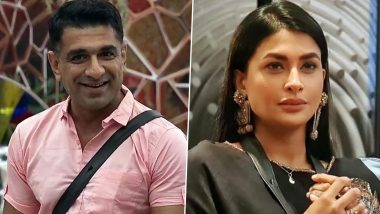 Bigg Boss 14 Weekend Ka Vaar Preview: Eijaz Khan Proposes Pavitra Punia to Spend the Rest of their Lives Together, the Actress Seals the Deal With a Kiss