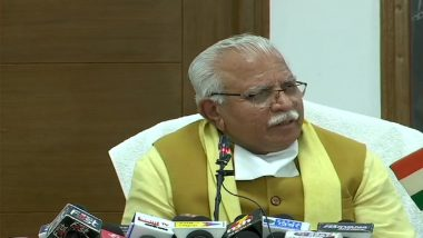 Manohar Lal Khattar Fumes After Farmers Ransack Venue of His Event in Karnal, Blames BKU Leader Gurnam Singh Chaduni