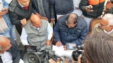 Abhay Chautala, INLD Legislator, Gives 'Conditional' Resignation Letter to Vidhan Sabha Speaker Over Farmers' Unrest