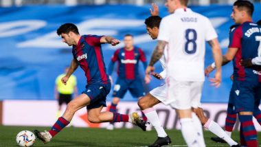 La Liga 2021: Real Madrid Loses 2-1 to Levante in Another Slip in Spanish League Title Race