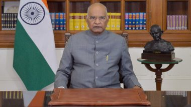 Holi 2021: President Ram Nath Kovind Extends Wishes to the Nation on Festival of Colours