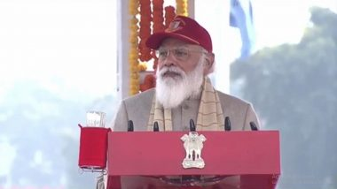 PM Narendra Modi Addresses NCC Rally at Cariappa Ground in Delhi, Says 'India Will Soon Become Big Producer of Defence Equipment'