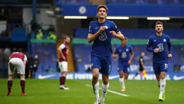 Premier League 2020–21: Chelsea Beats Burnley 2–0, Thomas Tuchel Secures First Win as Manager