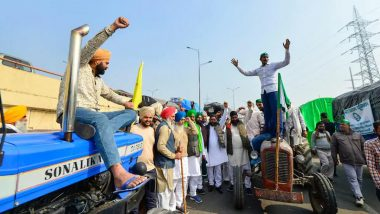 Farmers' Protest: Uttar Pradesh Police Withdraws 'Ban' on Fuel to Tractors in View of Tractor Rally on January 26