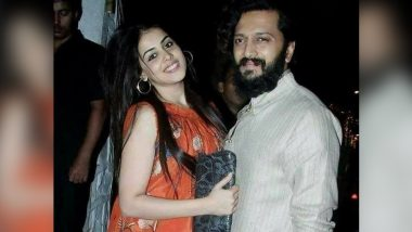 Genelia Deshmukh Shares Her 'Forever Waali Love Story' As She Posts an Adorable Video Featuring Riteish Deshmukh