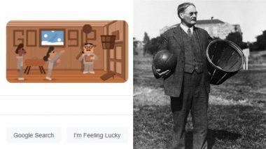 Google Dedicates Doodle to Basketball Inventor Dr. James Naismith