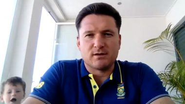 Graeme Smith's Son Crashes Virtual Press Conference to Get His Shoelaces Tied, Video Goes Viral