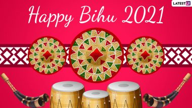 Magh Bihu 2021 Wishes in Assamese: WhatsApp Stickers, Bhogali Bihu HD Images, Facebook Photos, Telegram Messages and GIFs to Share Happy Bihu Greetings
