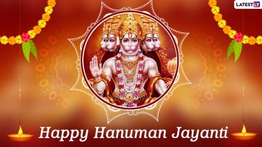 Hanuman Jayanti 2021 Dos and Don'ts: From Reciting Hanuman Chalisa to Wearing Red, Things You Can Do to Bring in Good Luck, Prosperity, and Seek Bajrangbali's Blessings