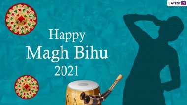Magh Bihu 2021 HD Images, Greetings & Wishes: Send WhatsApp Stickers, Facebook Messages, GIFs & Photos with Bhogali Bihu Quotes to Your Loved Ones on the Harvest Festival