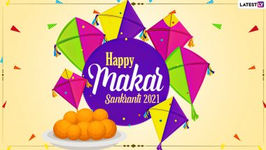Makar Sankranti 2021 Greetings in Telugu: WhatsApp Stickers, Sankranthi Subhakankshalu Images, GIF Messages and Hike Wishes To Send to Family and Friends