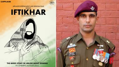 Iftikhar: Film on Major Mohit Sharma's Life In Works; India's Special Forces Hero Who Killed Two Hizbul Terrorists