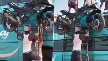 Poverty Porn: Watch Video of Man Carrying Bike on His Head as 'Incredible Strength of India'