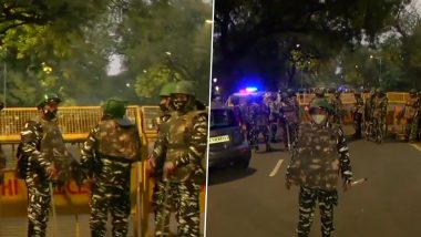 Israel Embassy Blast Case: Delhi Police Special Cell Arrests 4 Kashmiri Students