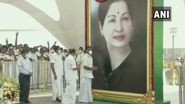 Jayalalithaa Memorial Inaugurated in Tamil Nadu by CM K Palaniswami