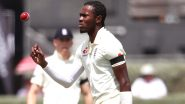 Jofra Archer Ruled Out of England vs New Zealand Test Series 2021 Due to Elbow Injury