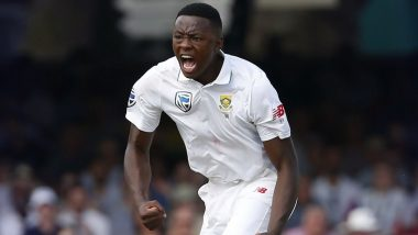 Kagiso Rabada Becomes Third-Fastest Proteas Bowler to Scalp 200 Test Wickets, Achieves Feat During Pakistan vs South Africa 1st Test 2021