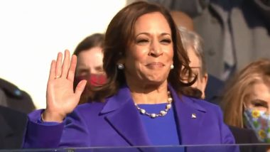 US Vice President Kamala Harris Tweets 'Ready to Serve' After Taking Oath as First Woman VP of The United States