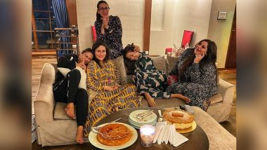 Kareena Kapoor Khan Enjoys A Fun Night Out With Sister Karisma Kapoor, BFFs Amrita And Malaika Arora!