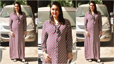 Kareena Kapoor Khan's Rs 2000 Printed Maxi Dress From Zara Is a Maternity Look That's Affordable and In-Trend!