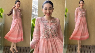 Yo or Hell No? Karisma Kapoor in Anita Dongre for a Homebound Photoshoot!