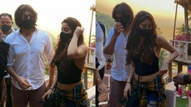 Janhvi Kapoor and Kartik Aaryan's Pictures From Their Goa Vacay Go Viral, Fans Wonder What's Brewing!