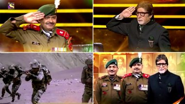 Kaun Banega Crorepati 12 Grand Finale: Amitabh Bachchan's Quiz Show To Salute Kargil War Heroes (Watch Video)